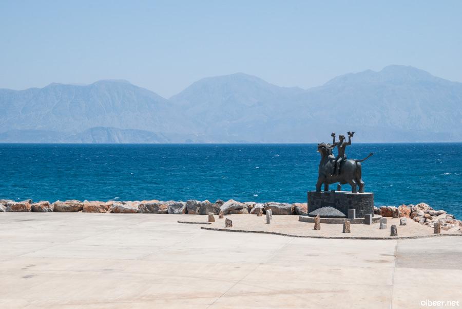 Греция, Остров Крит, Балос, Элафониси, Ретимно, Агиос-Николаос, Озеро Курна