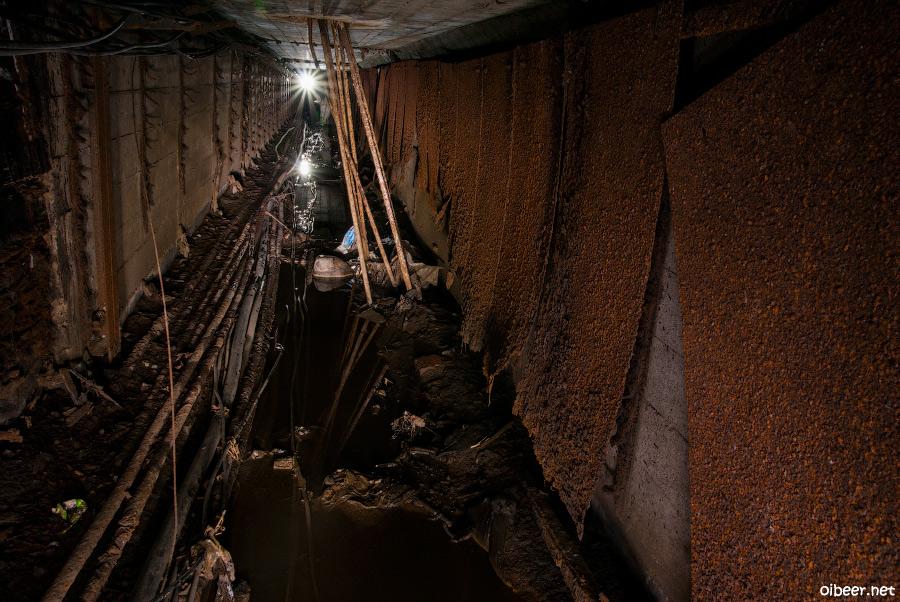 Подземная река Химка