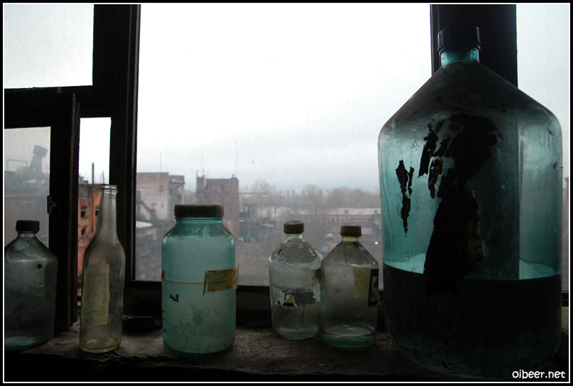 Заброшенный химический завод