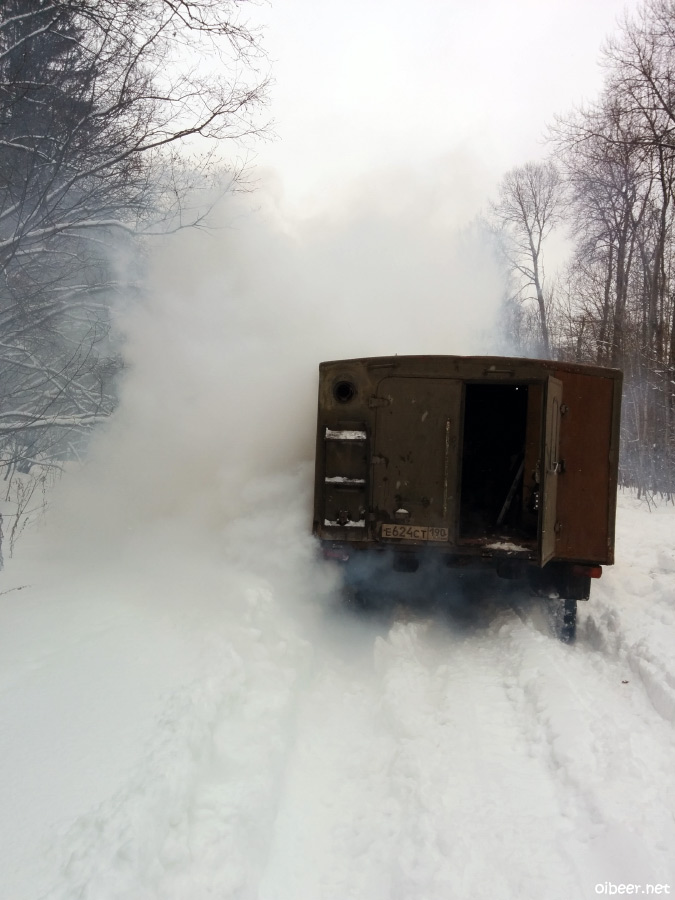 ГАЗ66, лунапарк, грузовое трофи