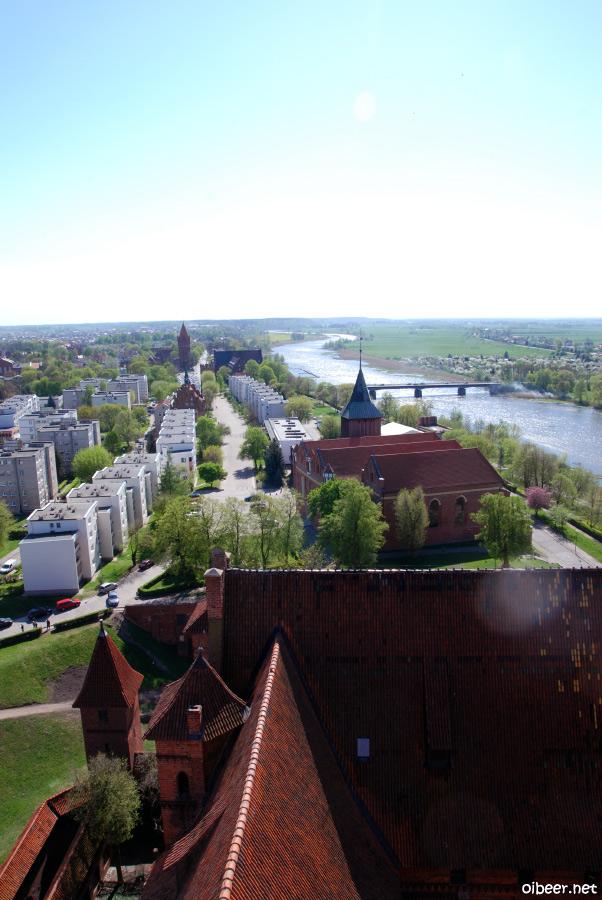 Замок Мальборк Польша