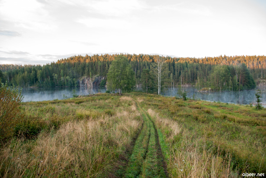 северная ладога, карелия, гирвас, кивач, тулмозерский завод