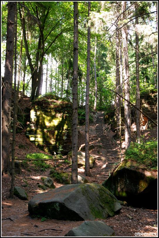 Праховские скалы Чешский рай