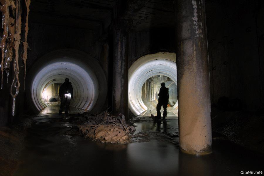 Ледяные порталы подземные реки лед портал